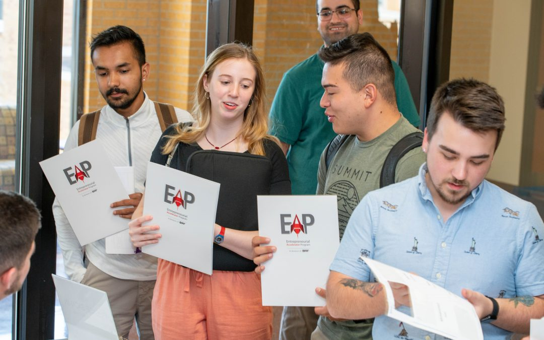 EAP partners with local universities to train students to think, compete like business owners