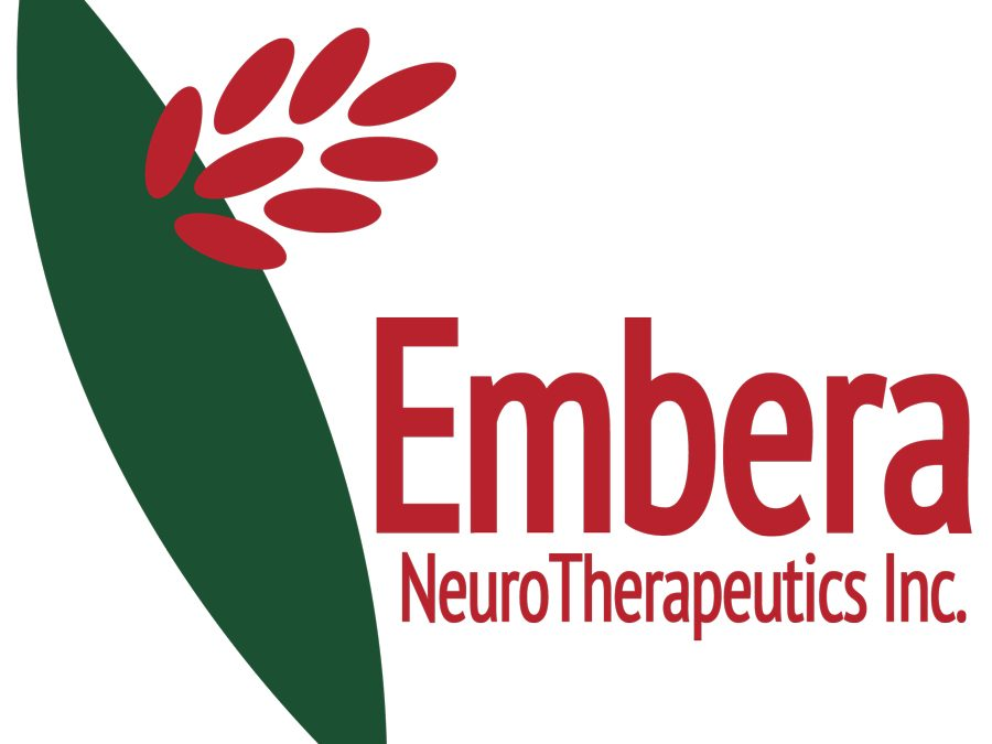 Embera NeuroTherapeutics Completes Series B Financing and Receives Grants to Advance EMB-001 into Phase 2 Clinical Studies in Cocaine Use Disorder and Smoking Cessation