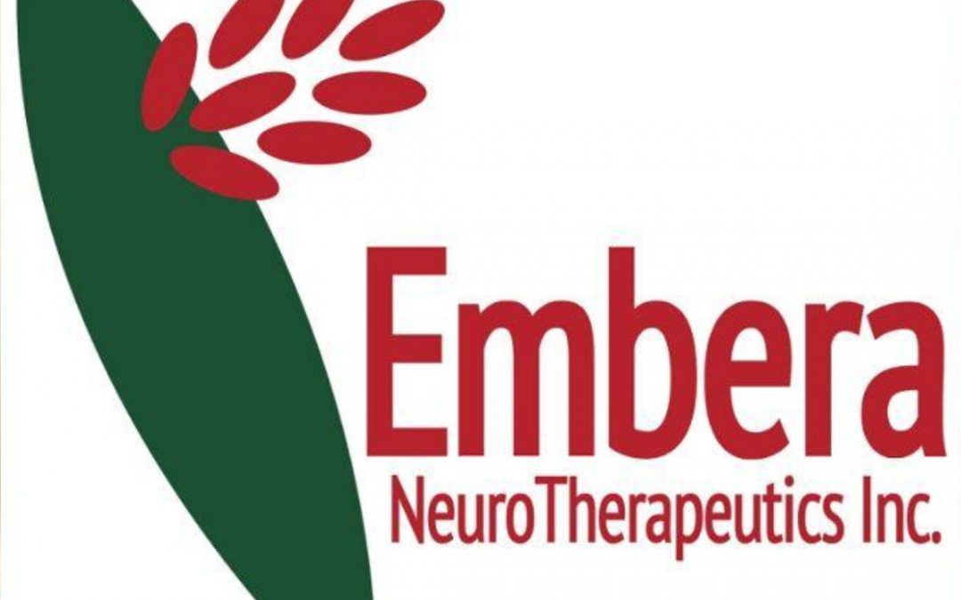 BRF's Entrepreneurial Accelerator Program portfolio company Embera NeuroTherapeutics announces first subject dosed in Phase 2 study of EMB-001 in cocaine use disorder